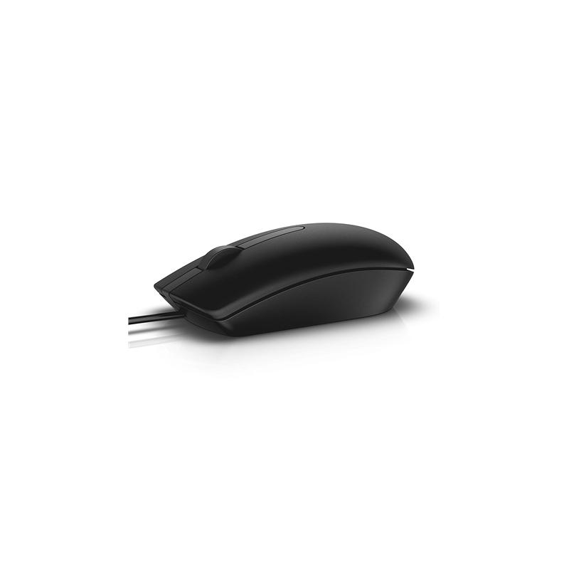 Dell MS116 laidinė pelė, juoda, 1.8m.