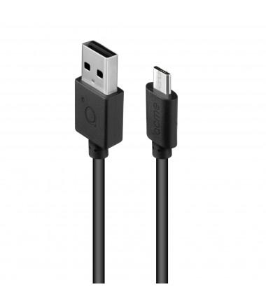 Acme Cable CB1011 1 m, Black, Micro USB, USB A