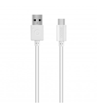 Acme Cable CB1041W 1 m, White, USB A, Type-C