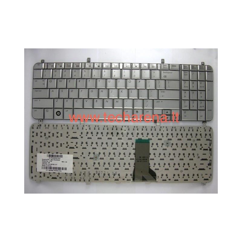 Nauja Hp HDX 16 X16 X16T klaviatura