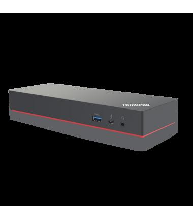 Lenovo ThinkPad Thunderbolt  3 Dock Gen 2 Dock, Ethernet LAN (RJ-45) ports 1, DisplayPorts quantity 2, USB 3.0 (3.1 Gen 1) ports