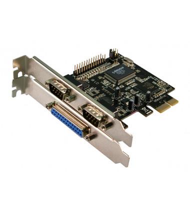 Logilink 2 x serial (COM), 1 x parallel (LPT) PCIe