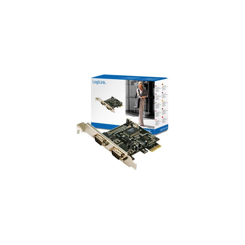 Logilink 2 x serial (COM) PCIe