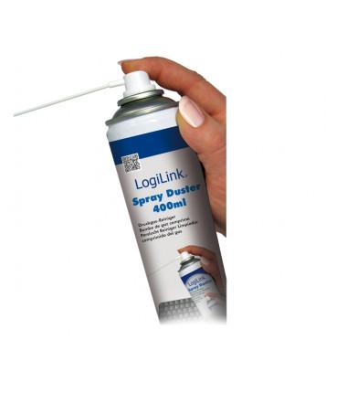 Logilink Cleaning Duster Spray (400 ml) Compressed air cleaner, 400 ml, suspaustas oras