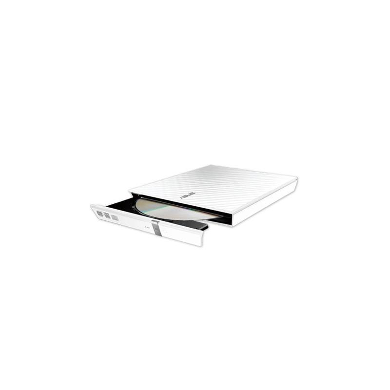 Asus SDRW-08D2S-U Lite Interface USB 2.0, DVD±RW, CD read speed 24 x, CD write speed 24 x, White, Desktop/Notebook
