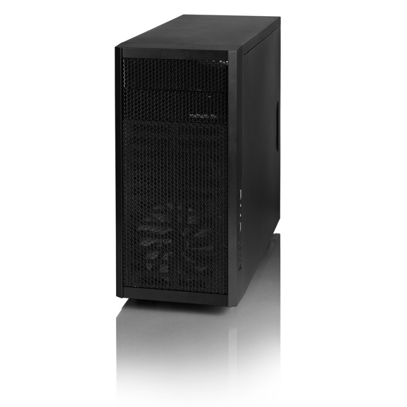 Fractal Design Core 1000 USB 3.0 Black, Micro ATX, Power supply included No