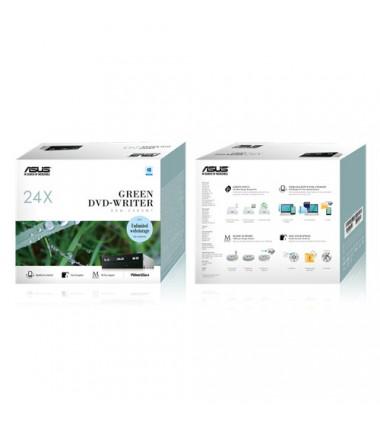 Asus DRW-24D5MT Internal, Interface SATA, DVD±RW, CD read speed 48 x, CD write speed 48 x, Black, Desktop