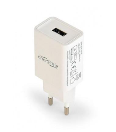 EnerGenie EG-UC2A-03 universalus USB baltas įkroviklis