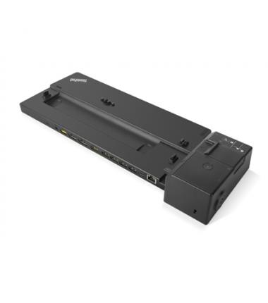 Lenovo ThinkPad Pro Docking Station 40AH0135EU, max 2 displays, Ethernet LAN (RJ-45) ports 1, DisplayPorts quantity 2, USB 2.0 p