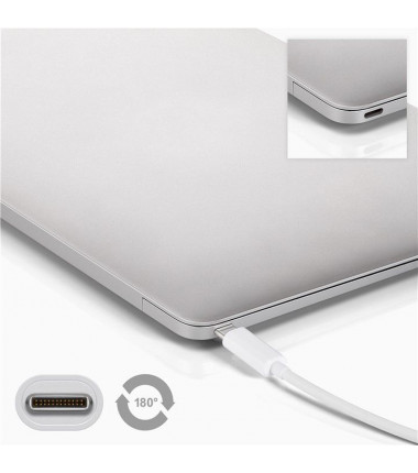 Goobay 4 USB-C multiport adapter 66274 USB Type-C, USB 3.0 female (Type A), White