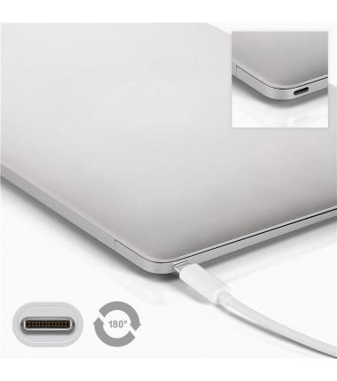 Goobay 4 USB-C multiport adapter 66274 USB Type-C, USB 3.0 female (Type A), White