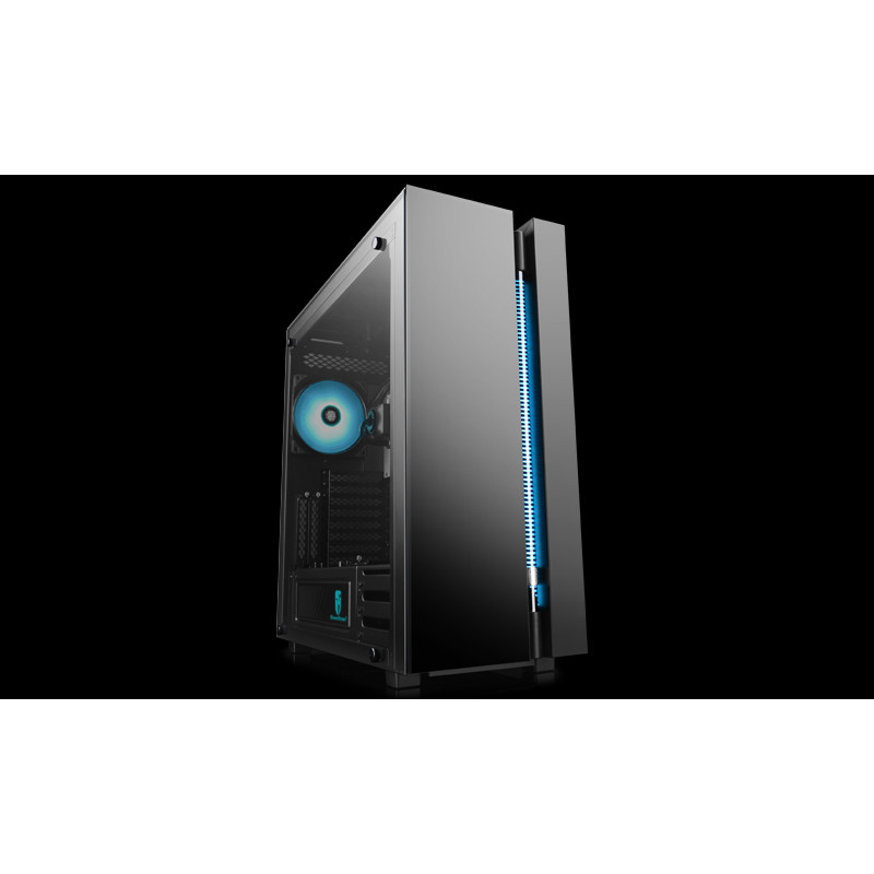 Deepcool NEW ARK 90MC Side window, Black, E-ATX, Power supply included No