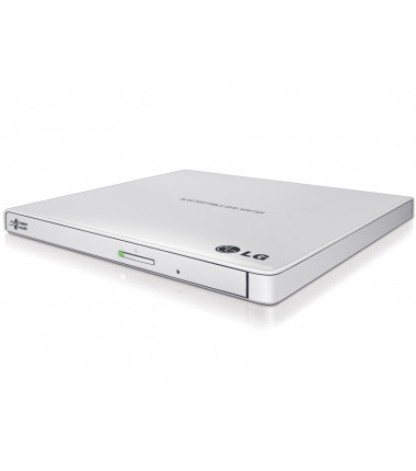 H.L Data Storage Ultra Slim Portable DVD-Writer GP57EW40 Interface USB 2.0, DVD±R/RW, CD read speed 24 x, CD write speed 24 x, W