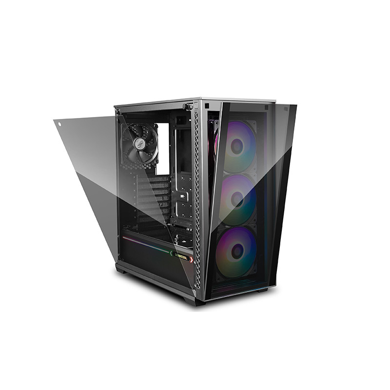 Deepcool MATREXX 70 ADD-RGB 3F Side window, Black, E-ATX, Power supply included No