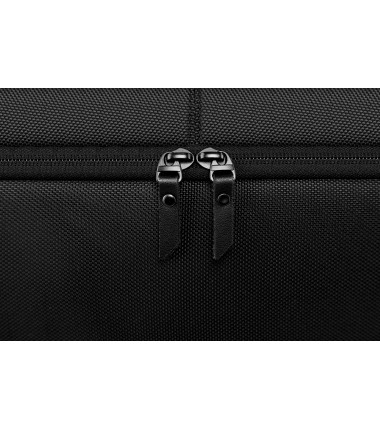 "Dell Premier Briefcase Fits up to size 15 "", Black with metal logo, Shoulder strap, Briefcase"