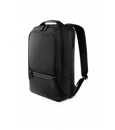 "Dell Premier Slim Fits up to size 15 "", Black with metal logo, Shoulder strap, Notebook carrying backpack"