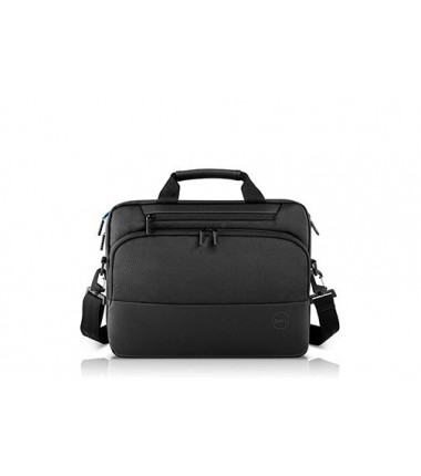 "Dell Pro Briefcase Fits up to size 15 "", Black, Messenger - Briefcase"