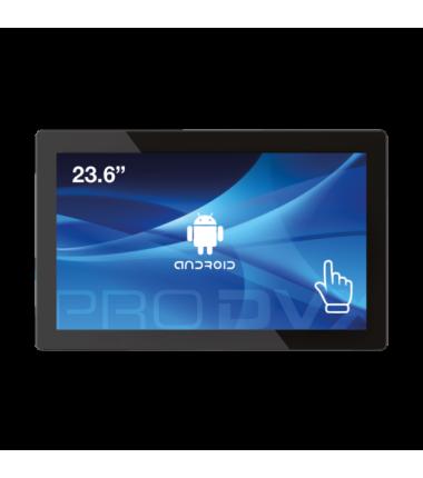 "ProDVX APPC-24DSK 23.6"" Android Tablet PC/1920 x 1080/250 Ca/Cortex A17 1.6 GHz/2GB/8GB eMMC Flash/Android 6/RJ45 + WiFi/VESA/Bl"