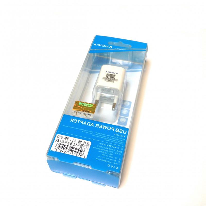 Kucipa A11 universal usb wall charger, mini įkroviklis