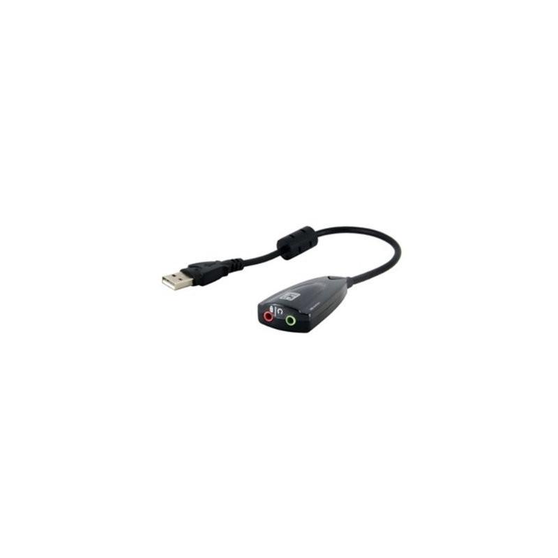 USB išorinė garso plokštė