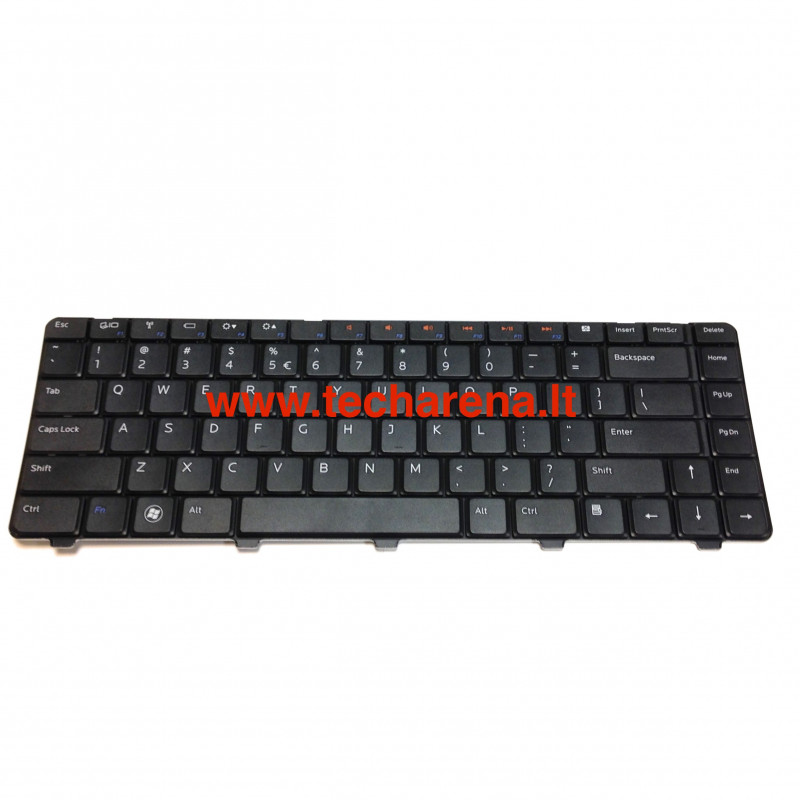 Dell Inspiron 14V 14R N3010 N4010 N4020 N4030 N5030 M5030 Us klaviatūra