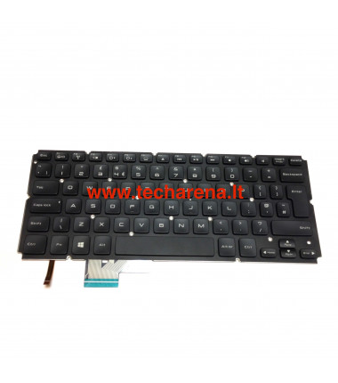 Dell XPS 14 L421X 15 L521X UK klaviatūra su apšvietimu