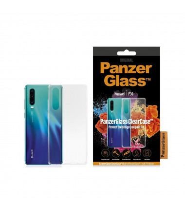 PanzerGlass 0199 0198 Huawei, Huawei P30, Plastic, Transparent, Back cover