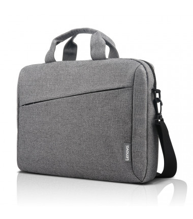 """Lenovo Casual Toploader T210 Fits up to size 15.6 """", Grey, Messenger - Briefcase"""