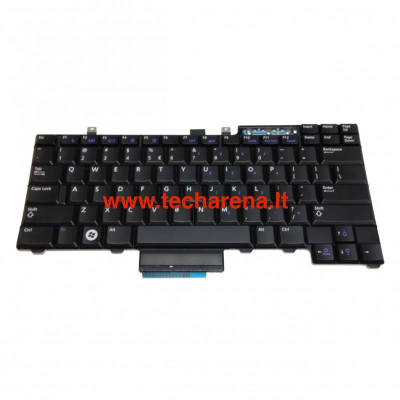 Dell Latitude E5510, E6410, E6500 E6510 Precision M4400, M4500 US klaviatūra