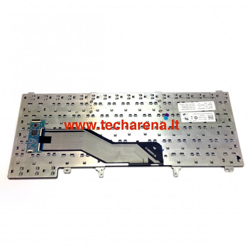 Dell Latitude E6220 E6230 E6330 E6320 E6420 E5420 E6430s XT3 us klaviatūra