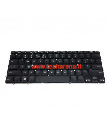 Dell XPS 12 L221X 13 L321X L322X US klaviatūra su apšvietimu