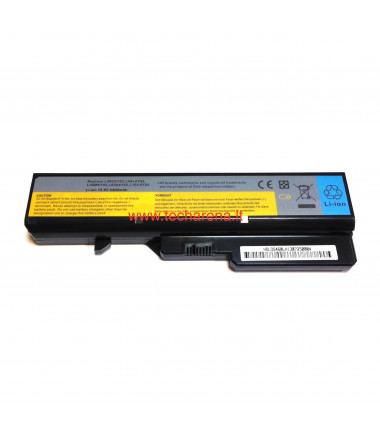 Lenovo L09L6Y02 IdeaPad G460 G470 Z470 pakaitinė 6 celių 4400mah baterija